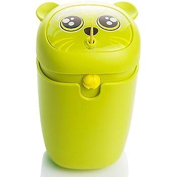 2017 Green Fashionable Cute Pet Automatic Plastic Toothpick Holder/Dispenser
