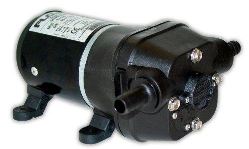 FloJet 04105143A Marine Freshwater Shower Drain Pump (3.3-GPM, 12-Volt, 6-Amp), White ()