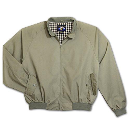 Khaki barracuda jacket M-6XLT, 6X Tall