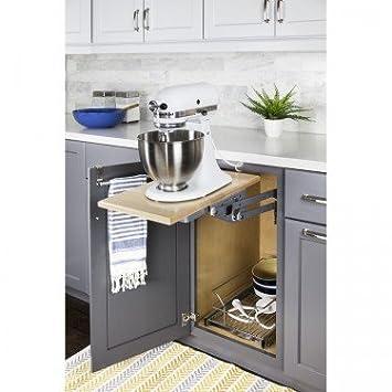 Amazon Com Heavy Duty Mixer And Appliance Lift Mechanism Organizer