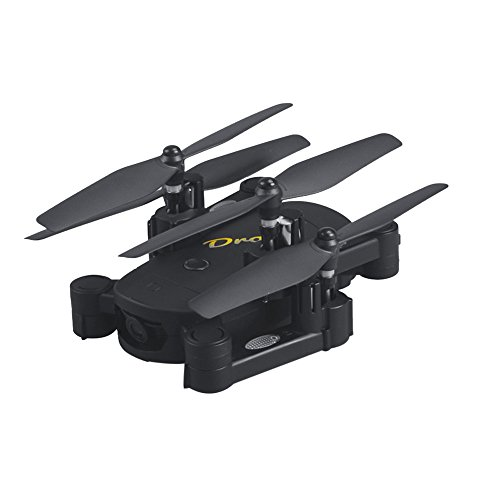 Leegor 2 Million Wide-angle HD Camera WIFI FPV RC Quadcopter 2.4G 4CH Altitude Hold Pocket Drone by Leegor