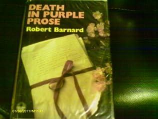 book cover of Death in Purple Prose