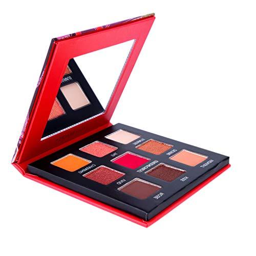 Highly Pigmented Eyeshadow Palette,YMH BEAUTE 9 Colors Eye Shadow Palettes Matte Eyeshadow Makeup Palette Long Lasting Waterproof Colorful Cosmetics (Sweet Heart)