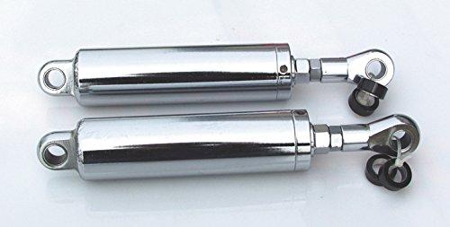 Ultima Chrome Narrow Body Shocks for Softail, 1984-1999, adjustable 116-257