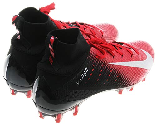 - Nike Vapor Untouchable Pro 3 Mens Football Cleats (10, Black/Red)