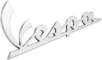 VESPA GTS GT S LX 50 125 200 250 300 Black Self Adhesive Legshield /& Panel Badge