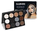 Mehron Makeup Exclusive Mimi Choi Illusion Makeup 12-Color Palette