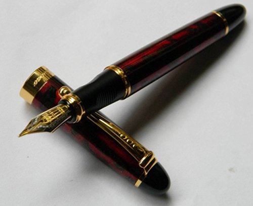 new-fine-red-ice-medium-nib-fountain-pen-jinhao-x450