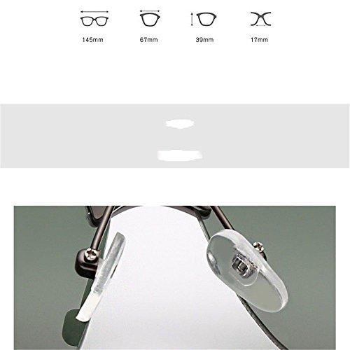 Film de Lunettes lunettes soleil classiques CHshop de Foncé Vert Box Gun soleil qz5TW67A