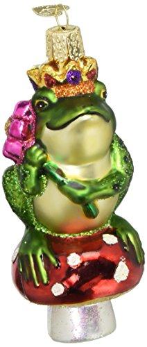 Frog Ornaments Christmas Tree (Old World Christmas Frog Prince Glass Blown Ornament)