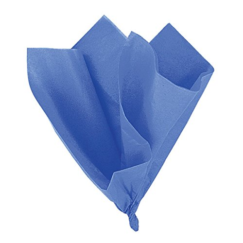 Royal Blue Tissue Paper Sheets