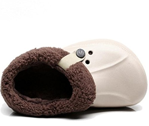 Felpa Zapatillas amp;XY 42 Zapatos Casa W Hombre Calentar Invierno algodón Agujero tYwBfqB