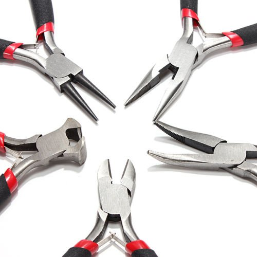 Electric Quilt 5 Software (5pcs PLIERS SET JEW-ELRY MAKING BEADING WIRE WRAP-PING HOBBY 5