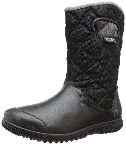 Black Boot Mid Snow Juno Women's Bogs Winter xvw17ZqH