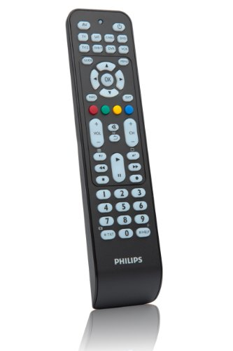 Philips SRP2008B - Mando a distancia universal (Botones para acceso...