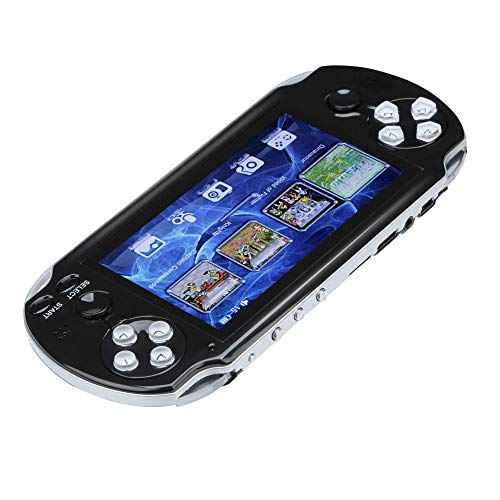 PSFS Handheld Game Console,Pap GAMETA 2 Plus 4.3'' Handheld Game Console 64 Bit Video Game Concole Port,Kids Gift for Ages 3+ Factory Outlet (Black) by PSFS (Image #3)