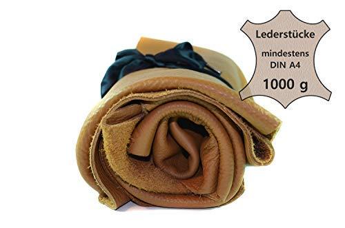 Pièces A4 Découpes Cuir 1kg Grande Club4brands De Marron Bricolage Qualité Din Textil Chutes Couture Décoration Revêtement Extra aqTwdz