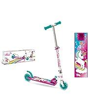 Mondo Toys 28515 Scooter van aluminium, voor kinderen en meisjes, verstelbaar, 2 wielen