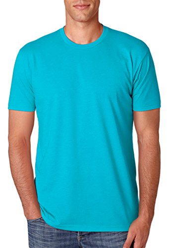 Next Level Apparel N6210 Mens Premium CVC Crew - Bondi Blue, Large