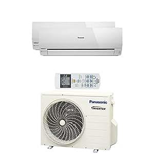Panasonic aire acondicionado multi split 2x1 kit2re712rke (4128f)