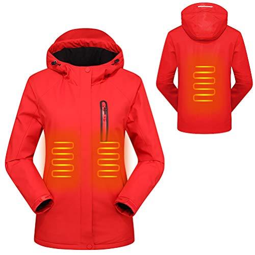 Mekta Cálida chaqueta para el tiempo libre, ajustada, chaqueta climatizada para invierno, cálida, impermeable, con…