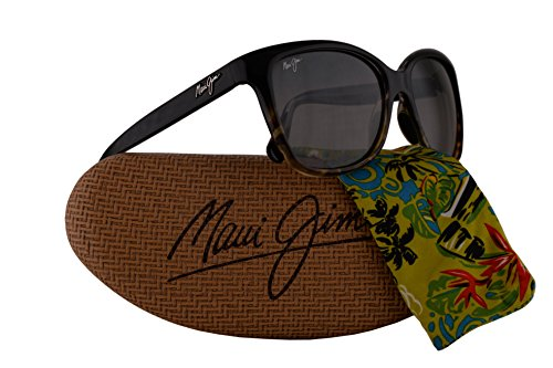 Maui Jim Starfish Sunglasses Black Tortoise w/Polarized Neutral Grey Lens - Wayfarer Maui Jim