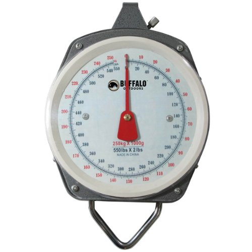 Buffalo Outdoor Hanging Scale, (Mechanical Hanging Dial Scale)