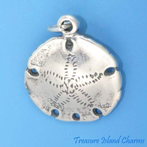 Sand Dollar Sea Cookie Shell 925 Sterling Silver