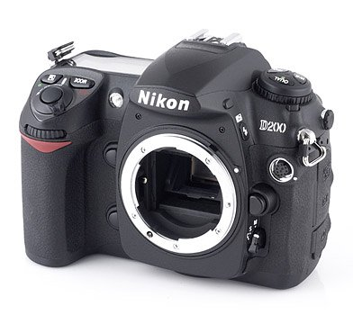 - Nikon D200 10.2MP Digital SLR Camera (Body Only) (Discontinued by Manufacturer)