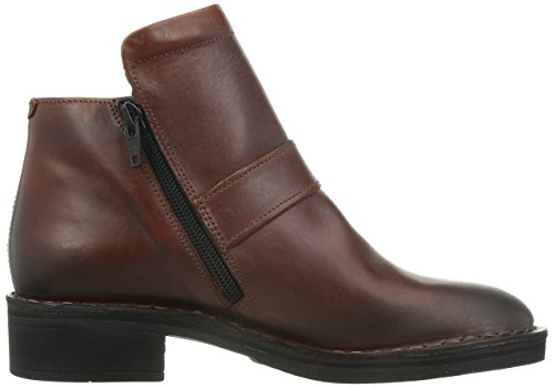 Fly London Womens Flan Leather Boots Brick