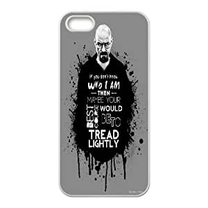 Poison king Heisenberg (Breaking Bad) poster phone Case Cove For Apple Iphone 5 5S Cases JWH9230828