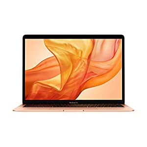 Apple MacBook Air (13-inch, Previous Model, 8GB RAM, 128GB Storage, 1.6GHz Intel Core i5) – Gold