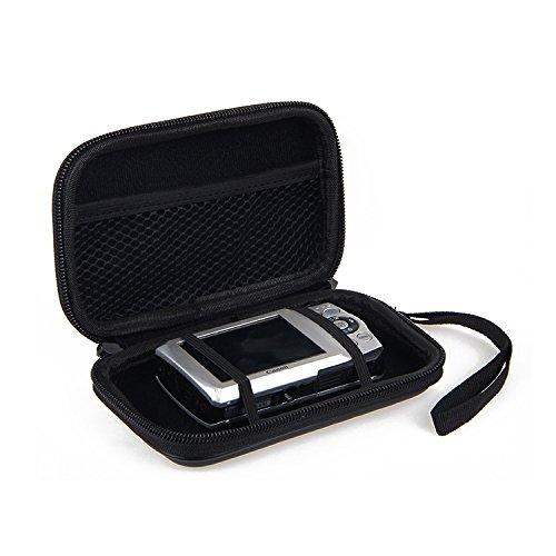 Bater/ía De Repuesto Cargador De Jaula K-S-Trade/® Caso Duro Etc Estuche para C/ámara Compacta Olympus Tough TG-6 | Prueba del Choque Bolsa//Funda R/ígida con Espacio para Jaulas De Memoria