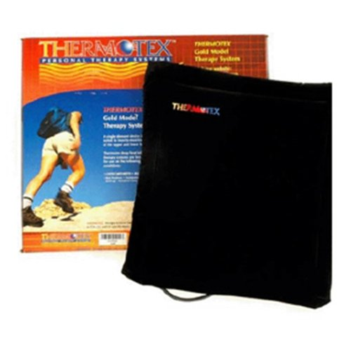 Thermotex Infrared Heating Pad - 14''x 16'' - TTS Gold by Thermotek