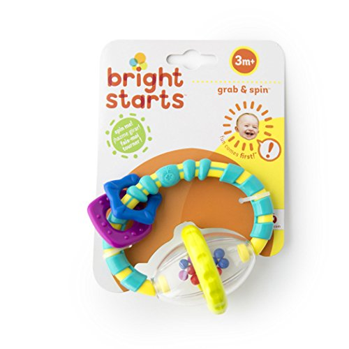 41TBDhvtpDL - Bright Starts Grab and Spin Rattle