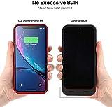 Battery Case for iPhone XR, 6800mAh External