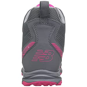 New Balance Kids' 700v1 Hiking Shoe, Grey/Pink, 1 M US Little Kid