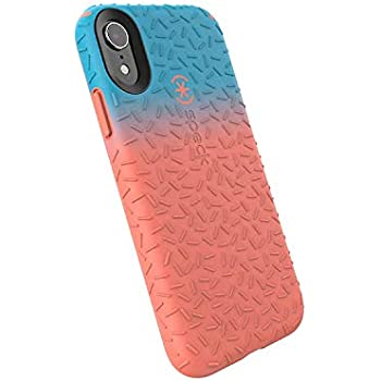 new concept 24332 4d1cb Speck Products CandyShell Fit iPhone XR Case, Navigate Teal Ombre Apricot  Peach/Apricot Peach