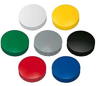 K/ühlschrankmagnet Magnettafel Magnetwand Rot /Ø 32mm Magnet Rund Haftmagnete f/ür Whiteboard 10x Magnete