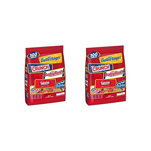 Nestle Chocolate Assorted Minis Bag, 40-Ounce -- 2 Pack (Chocolate Nestle Gluten Free)