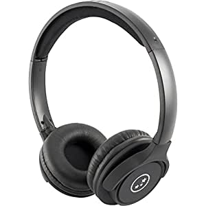 Able Planet Wired Headset for Universal - Retail Packaging - Matte Black