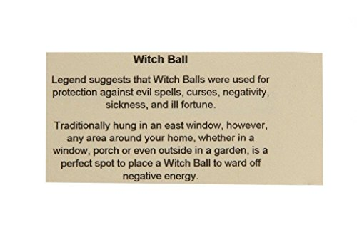 Witch or Spirit Ball in an Amethyst Color by D&J Glassware (Image #2)