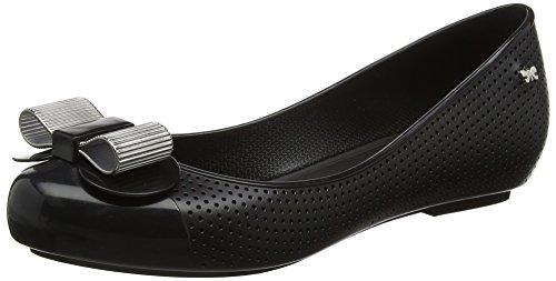 Zaxy Lace Bow - Zapatillas de Ballet Mujer Black (Black)