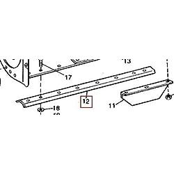 John Deere Original Equipment 1 Blade #M42976