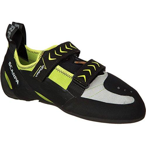 Scarpa Men's Vapor V Climbing Shoe, Lime, 49 EU/14.5 M US