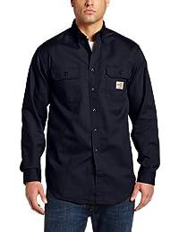 Carhartt mens Flame Resistant Classic Twill Shirt-big/tall