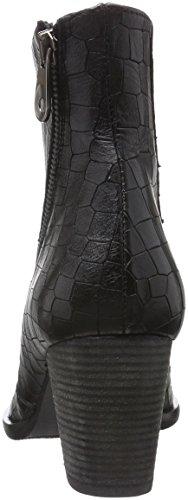 Doublure Black Zinda Bottes Chaude Courtes 25 Noir avec Femme fUZIx