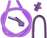 Pine Ridge Archery Archer's Combo Pack, 3/16-Inch, Purple