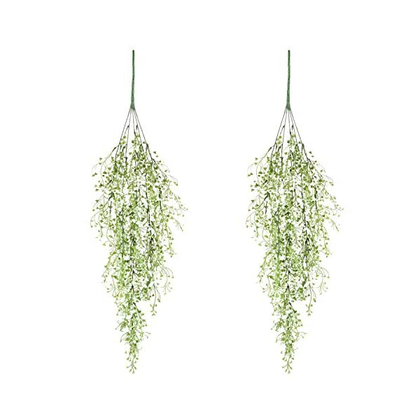 Artificial-Ivy-Fake-Hanging-Vine-Plants-Decor-Plastic-Greenery-for-Home-Hotel-Office-Kitchen-Wedding-Party-Garden-Craft-Art-Decor-Hanging-Basket-Pack-of-2PCSWhite