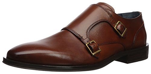 Cole Haan Men's Dawes Grand Double Monk Strap Loafer, British tan, 10.5 Medium US